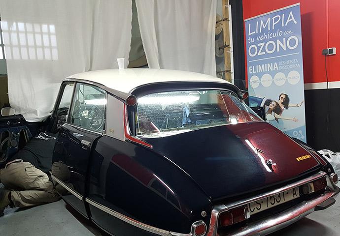 Galeria de asientos de coches tapiceria coche valencia - Tapizado techo coche ...